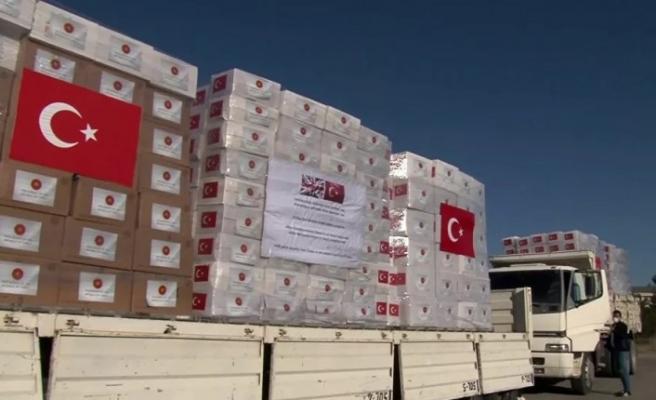 İngiltere'nin imdadına Türkiye'den alınan sağlık ekipmanları yetişti