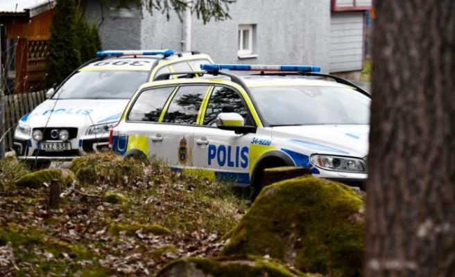 Upplands Väsby'de bir kişi bıçaklandı