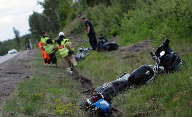 İsveç'te Nisan ayında en çok ölüm getiren motosiklet kazaları oldu
