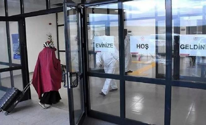 Maldivler'den getirilen 209 Türk vatandaşı Kırşehir'de karantinaya alındı