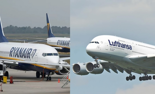 Ryanair'den Lufthansa'ya yardıma itiraz