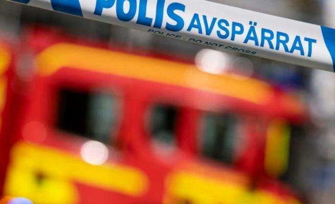 Stockholm merkezinde yangın