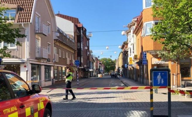 Varberg'de gaz kaçağı: Sokaklar girişe kapatıldı