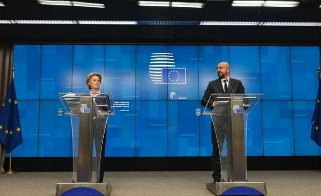 AB liderler 750 milyar euroluk kurtarma paketini görüştü