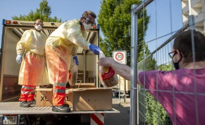 Alman et fabrikasının 1500'den fazla çalışanında virüs çıktı