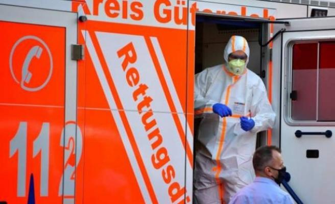Almanya'da virüs bulaştırma katsayısı R değeri 2,88'e yükseldi