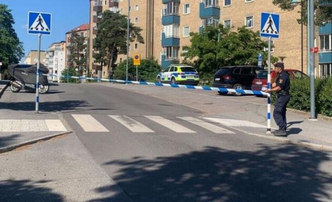 Sundbyberg'de bir kişi bıçaklandı