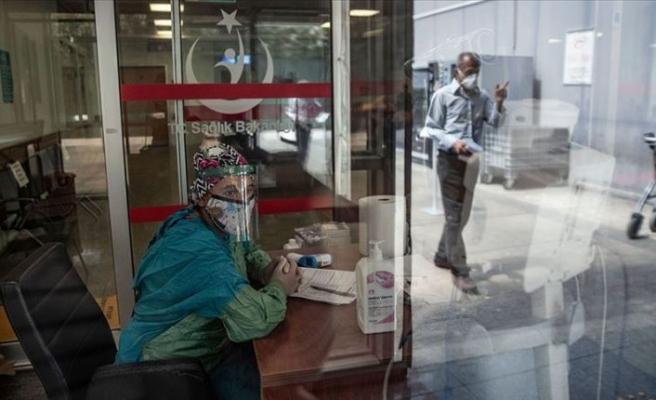 Türkiye'de iyileşen covid-19 hasta sayısı 158 bin 828 oldu