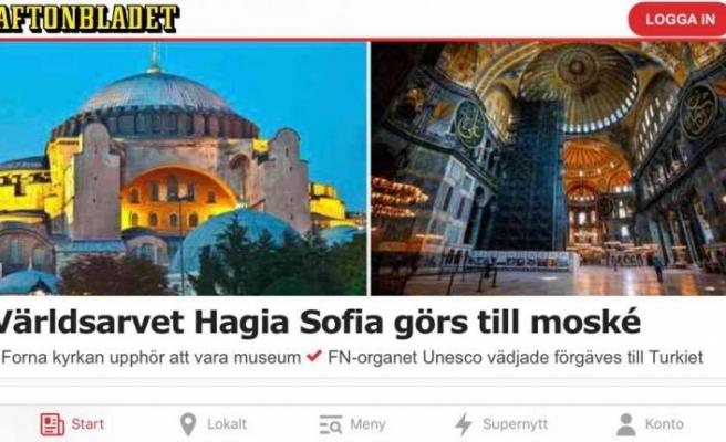 Cumhurbaşkanlığı Sözcüsü Kalın'dan, eski İsveç Başbakanı Bildt'e Ayasofya yanıtı