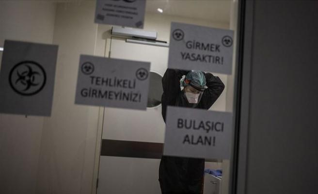 Türkiye'de Kovid-19'dan 209 bin 487 kişi iyileşti