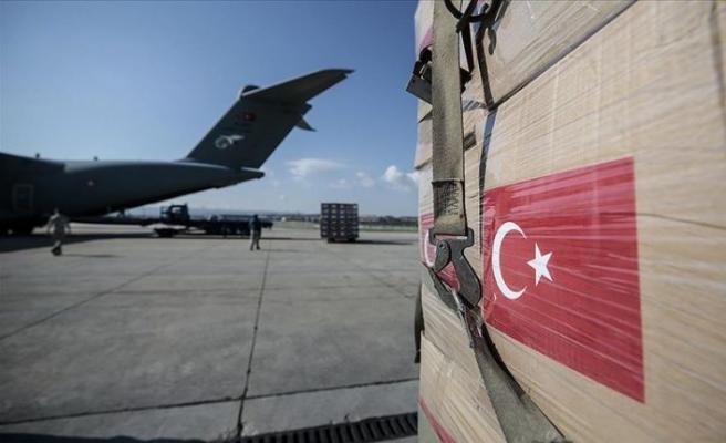 Türkiye'den Cezayir, Paraguay ve Sırbistan'a tıbbi malzeme yardımı