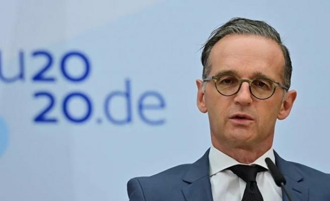 Almanya Dışişleri Bakanı Maas yarın Türkiye'ye gidiyor