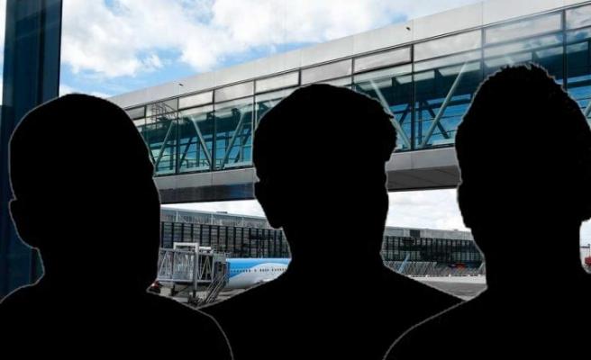 Arlanda havalimanından yurtdışına kaçmaya çalışan üç suçlu yakalandı