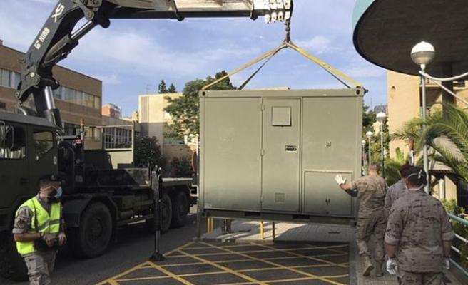 Covid-19'un yeniden yükselişe geçtiği İspanya'da ordu devreye giriyor