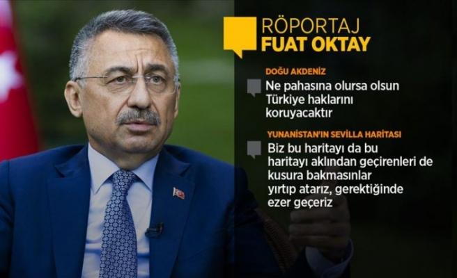 Cumhurbaşkanı Yardımcısı Oktay'dan AB'ye çağrı: Hakkaniyetli olun, Türkiye geri adım atmayacak