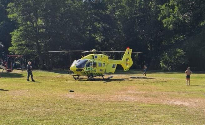 Huddigen'de taşlık alandan suya düşen 12 yaşındaki çocuk yaşamını yitirdi
