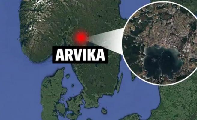 İsveç'in Arvika kentinde uçak kazası