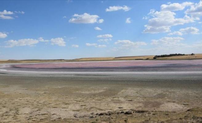 Kulu'daki Düden Gölü kurudu