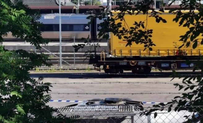 Sundsvall'da yük treninin altında kalan bir kişi hayatını kaybetti