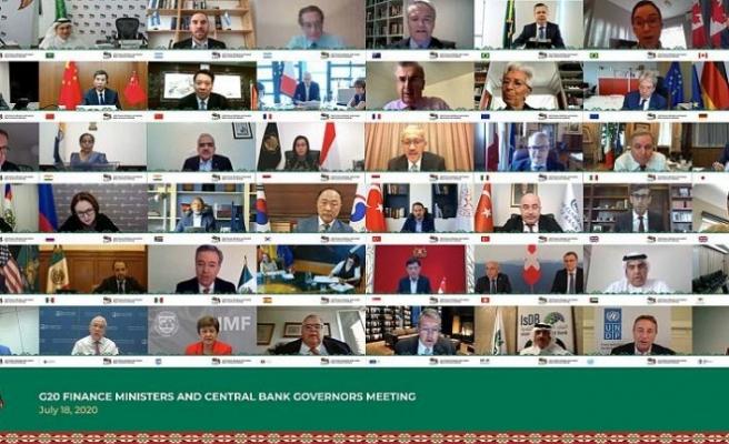 G-20 ülkeleri Covid-19'dan en çok etkilenen ülkelerin borçlarını 6 ay daha erteleme kararı aldı