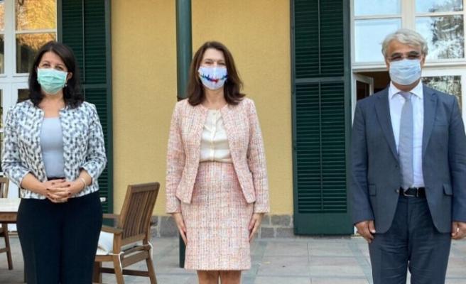 HDP'den İsveç Dışişleri Bakanı Linde'ye ziyaret
