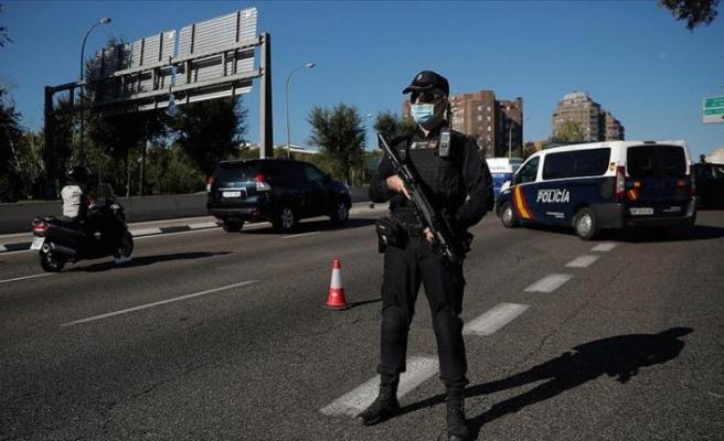 Madrid'de olağanüstü hal ilan edildi