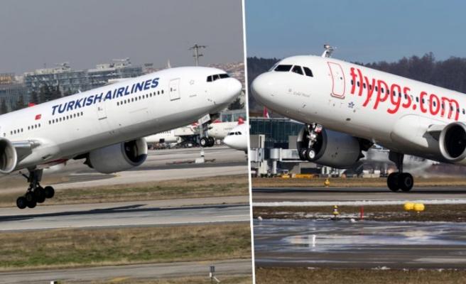 THY ve Pegasus vakaların arttığı ülkeye uçuşları durdurdu