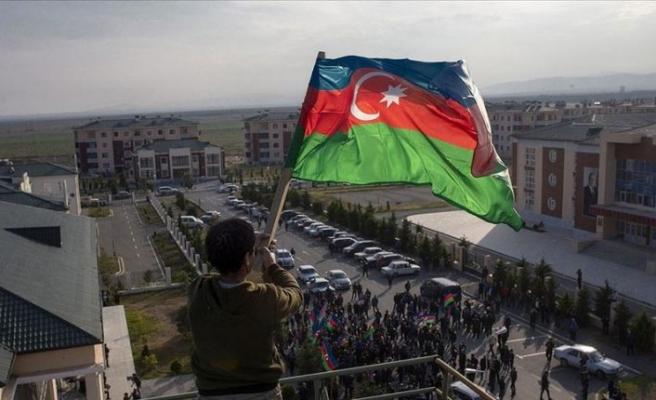 Azerbaycan'ın Terter kentinde günlerdir sığınakta kalanlar evlerine dönüyor