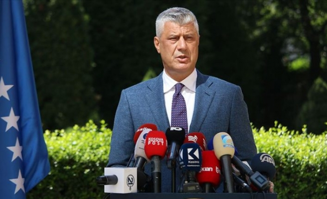 Kosova Cumhurbaşkanı Thaçi görevinden istifa etti