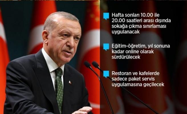 Türkiye'de hafta sonu sokağa çıkma yasağı getirildi
