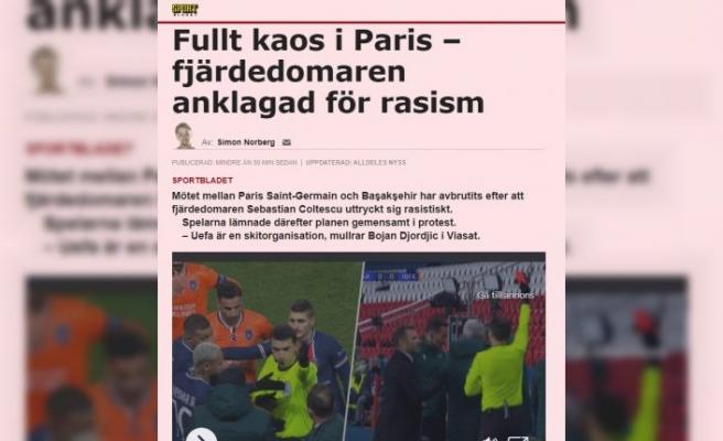 Başakşehirli Webo'ya ırkçı saldırıya İsveç'ten  tepki geldi