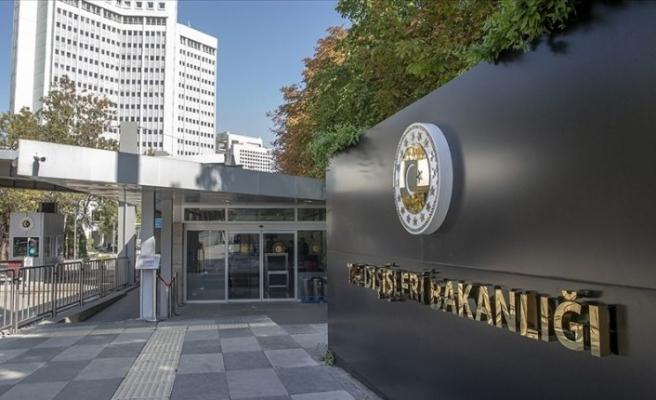 Dışişleri Bakanlığı'ndan AB Zirvesi'ne ilişkin açıklama