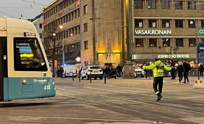 Göteborg'da tramvay kazası