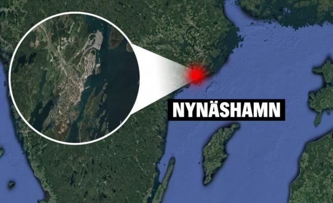 Nynäshamn'da bir kişi suda bulundu