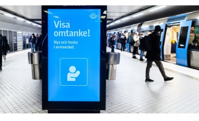Kaza nedeniyle Stockholm metrosu durdu