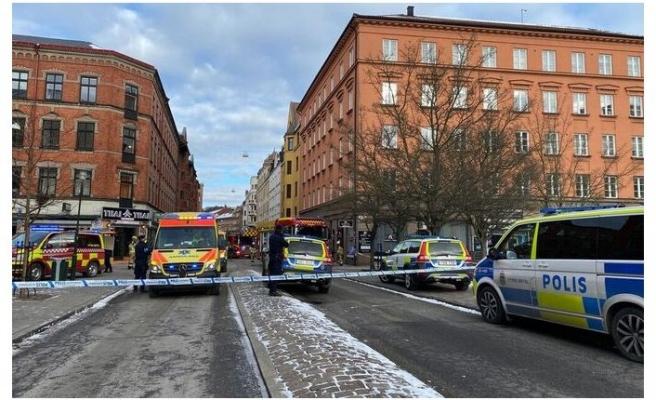 Malmö'de yangın