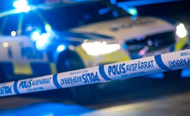 Stockholm'de bir evde soygun gerçekleşti