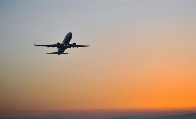Türkistan'dan ilk uluslararası uçuş Türkiye'ye yapıldı