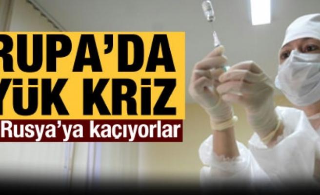 Almanlar aşı olmak için Rusya'ya gidiyor