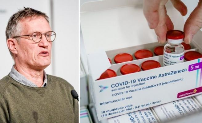 Anders Tegnell, AstraZeneca aşısıyla aşılandı