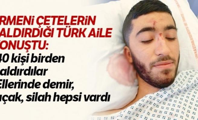 Fransa'da Ermeni grubun saldırısına uğrayan Türk aile yaşadıklarını anlattı
