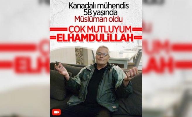 Kanadalı yazılım mühendisi Bitlis'te Müslüman oldu