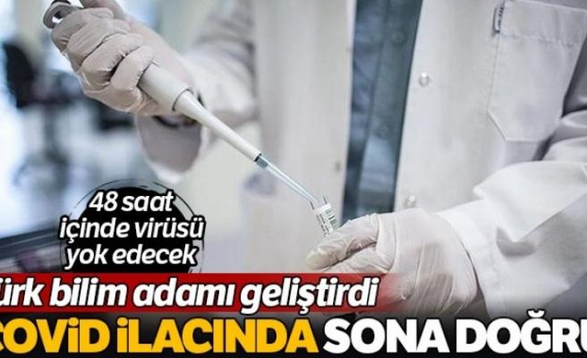 Türk bilim adamları, Kovid-19'u 48 saat içinde yok edecek ilaç üzerinde çalışıyor