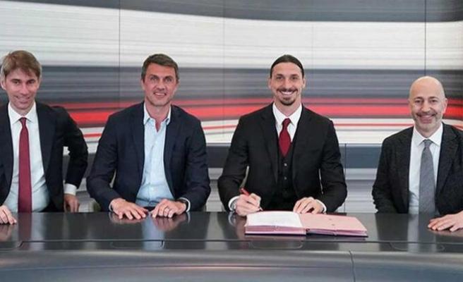 Zlatan Ibrahimovic'ten 1 yıllık imza! Ücreti dudak uçuklattı