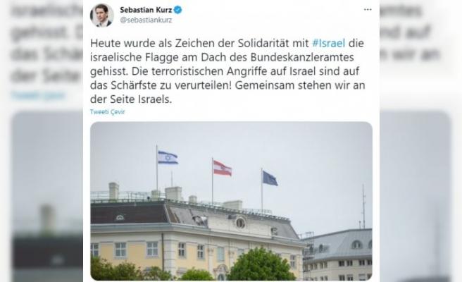 Avusturya'dan İsrail'e açıktan destek