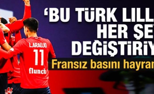 Fransızlardan büyük övgü! 'Bu Türk, Lille'in her şeyini değiştiriyor'