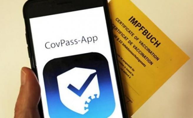 """Almanya'dan dijital Covid-19 aşı kartı uygulaması: """"CovPass"""""""