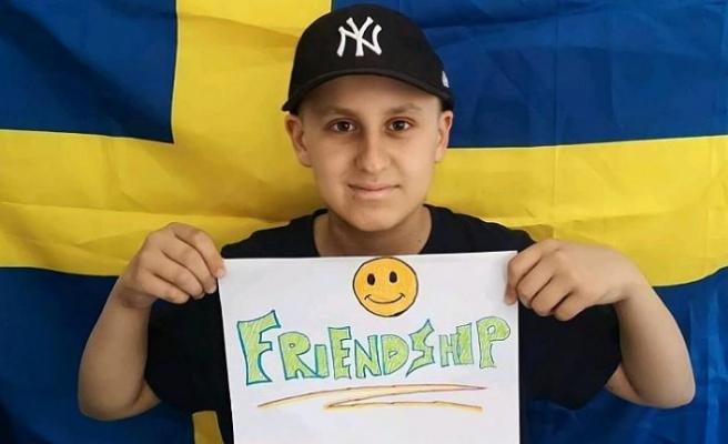 Genç futbolseverin kanserle olan inanılmaz mücadelesi