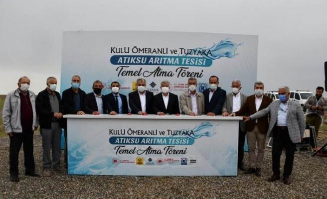 Konya'da Tuz Gölü'nün Korunması ve Kulu İçin 4 Önemli Yatırımın Temeli Atıldı