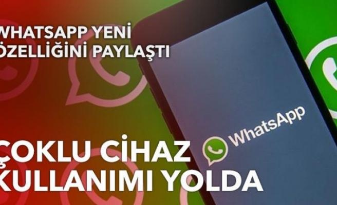 WhatsApp'a 'çoklu cihaz desteği' geliyor